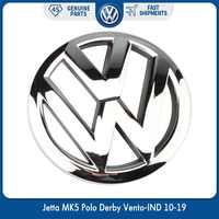 OEM 120mm parrilla frontal emblema cromo Logo insignia para Volkswagen VW Jetta MK5 Polo Derby Vento-IND 10-19 6R0 853 600 ULM