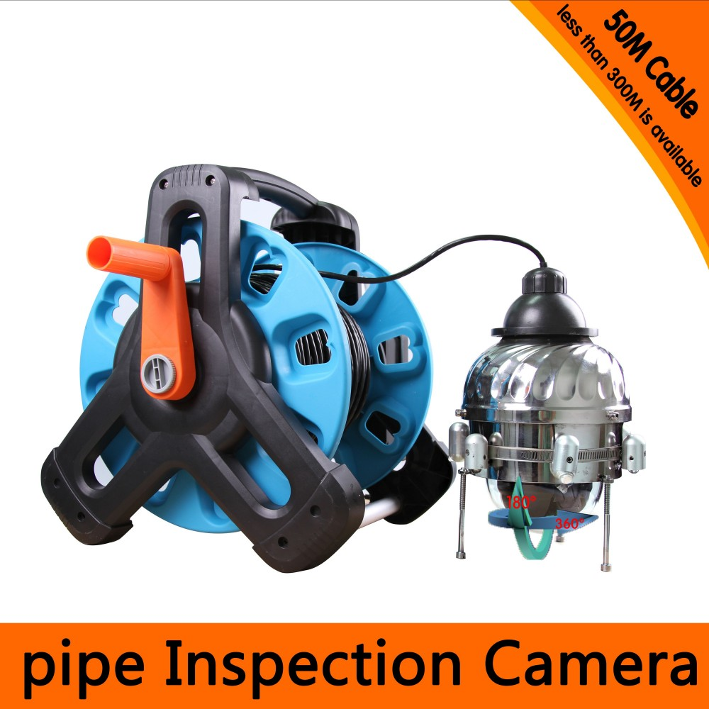 50Meters Depth Underwater PTZ Camera with 10x Optical Zoom & 6PCS 2 Walt White LEDS & IP68 Waterproof & Auto Scan Function image