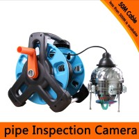 50Meters Depth Underwater PTZ Camera with 10x Optical Zoom & 6PCS 2 Walt White LEDS & IP68 Waterproof & Auto Scan Function