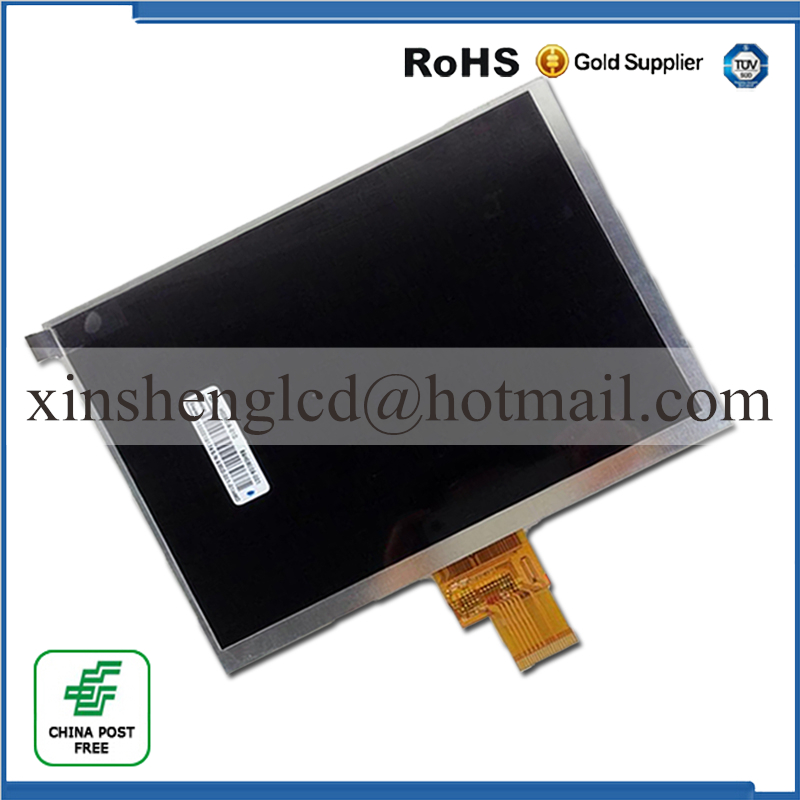 New LCD Display Matrix For 8 ARCHOS 80 xenon Tablet inner TFT LCD Screen Panel replacement Free Shipping new lcd display matrix for 7 archos 70b copper tablet inner lcd display 1024x600 screen panel frame free shipping