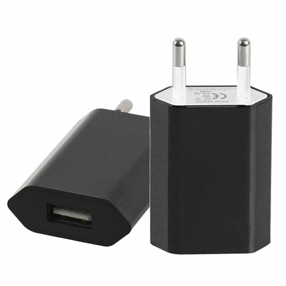 2A الهاتف المحمول شاحن USB الطاقة محول الاتحاد الأوروبي التوصيل السفر الحائط شاحن آيفون لسامسونج