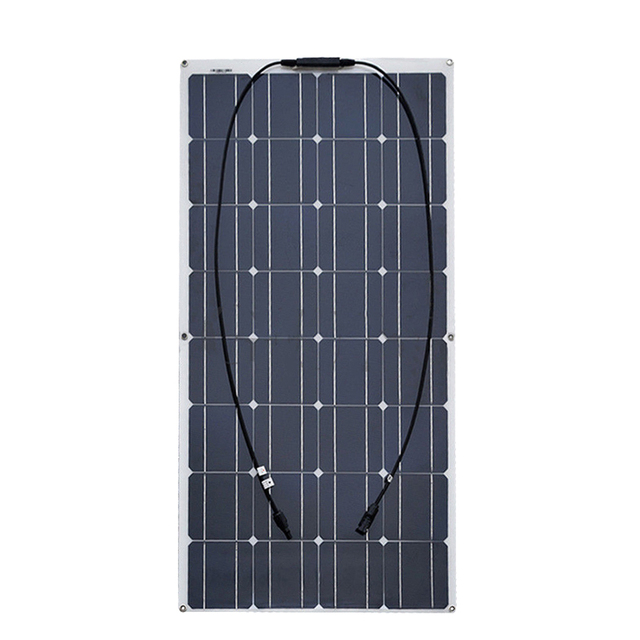 1000w solar panel 10*100w solar module Monocrystalline silicon cell with MC4 connector for 12v battery