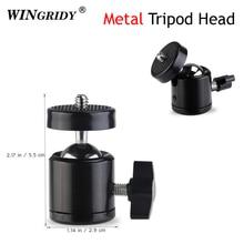 "WINGRIDY мини-штатив с шаровой головкой для Canon Nikon sony DSLR камера видеокамера DV мини-штатив светодиодный светильник кронштейн для вспышки с 1/4"""