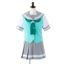2017 Liefde Live! Sunshine! Aqours Matsuura Kanan Ohara Mari JK Schooluniformen Cosplay Kostuum