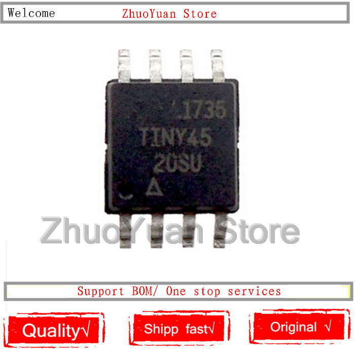 1PCS/lot ATTINY45-20SU SOP-8 ATTINY45-20 SOP8 ATTINY45 45-20SU IC Chip New Original In Stock