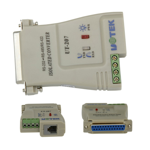 Ut C Db25 To Rs 485 422 Converter With Optical
