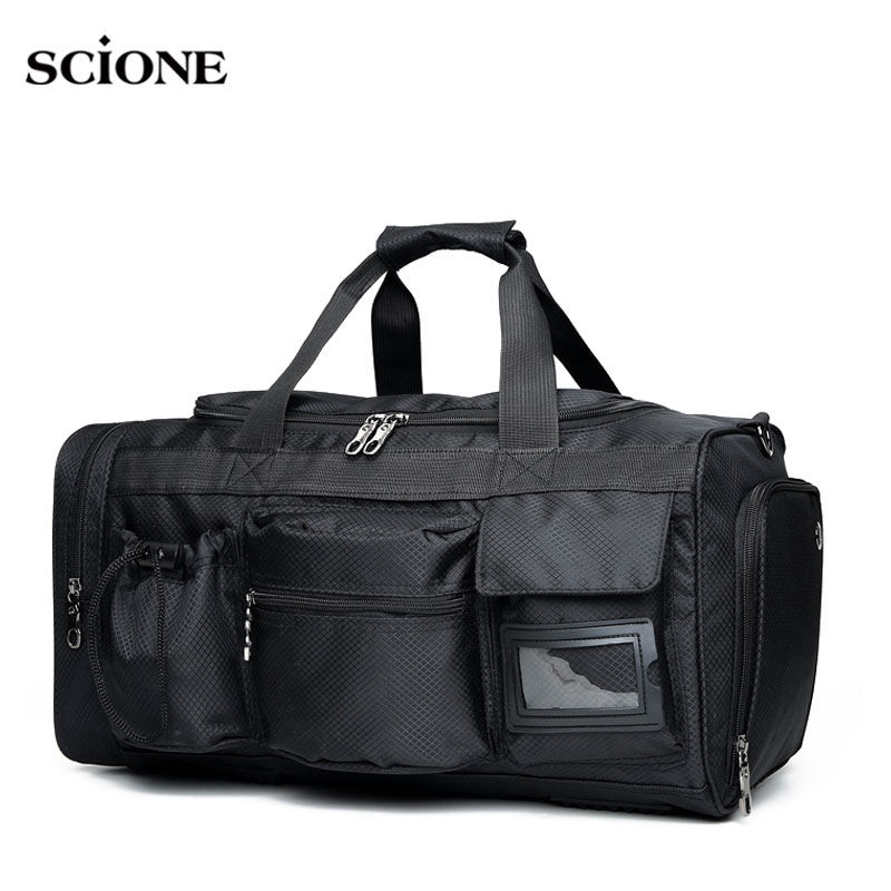 Black Waterproof Travel Bag