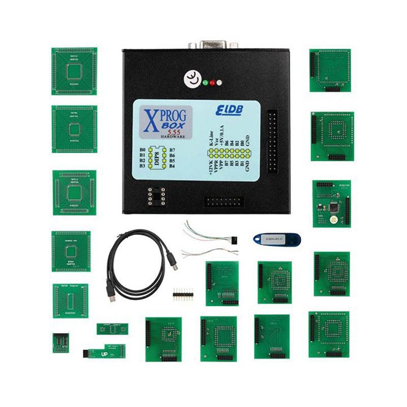 2017 Newest version XPROG V5.55 ECU Chip Tuning Programmer Auto ECU Programmer Car Diagnostic Tools X-PROG V5.55 Box