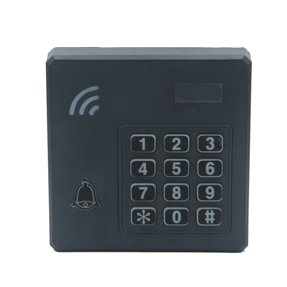 Waterproof RFID 125Khz/13.56Mhz ID IC Access Control Reader Entry Access Control Keyboard Wiegand 26 34 Reader