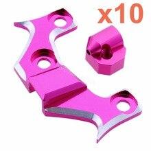10pcs Lot Aluminum Front Belt Tension Mount For 3Racing Sakura D4 1 10 RC Drift AWD