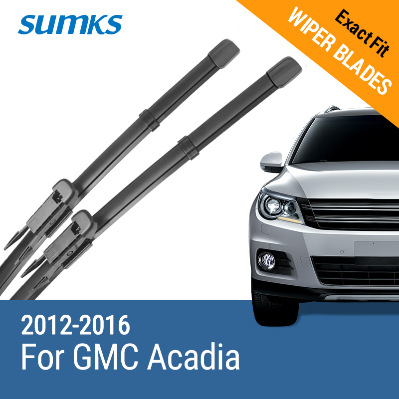 Sumks Wiper Blades For Gmc Acadia 24 21 Fit Pinch Type Arms 2012