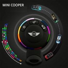 Mini Cooper MINI ключа автомобиля кольцо металлические декоративные брелок кольцо защитное кольцо