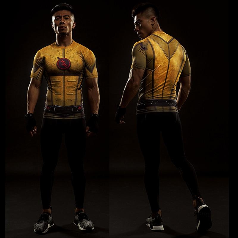 Captain America 3D T-shirt Heren T-shirt Crossfit Tops Punisher - Herenkleding - Foto 6