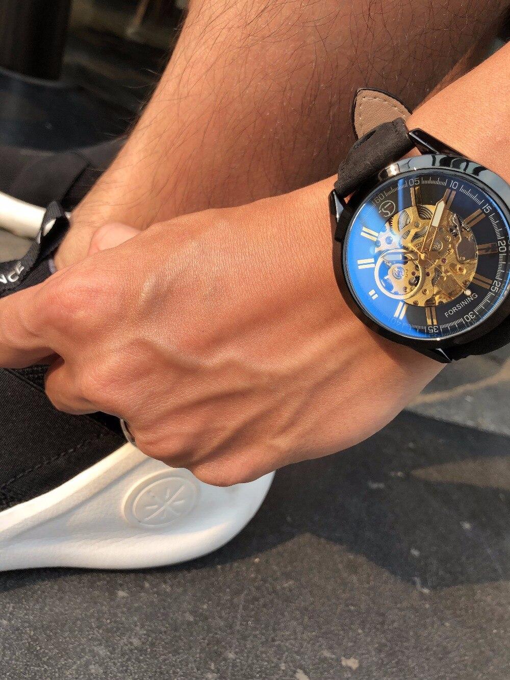 HTB1gL.Je138SeJjSZFPq6A vFXao Forsining 2017 Mens Casual Sport Watch Genuine Leather Top Brand Luxury Army Military Automatic Men's Wrist Watch Skeleton Clock