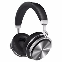 Bluedio F2 Active Noise Cancelling Wireless Bluetooth Headphones Junior ANC Edition Around The Ear Headset Black