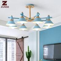Nordic modern LED pendent lights contemporary fixtures for living room restaurant lamp lamparas de techo colgante moderna