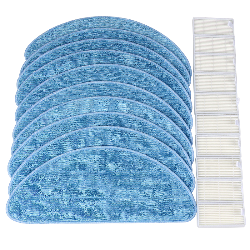Free Shipping Vacuum Cleaner Accessories Pack for ECOVACS CR120 X600 for ilife v5 x5 panda x500 Hepa Cleaning cloth сумка abag 6262