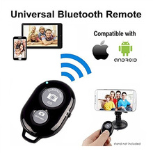 Bluetooth Wireless Remote shutter Camera Phone Monopod Selfie Stick Shutter Self-timer Timer Remote Control for IOS Android