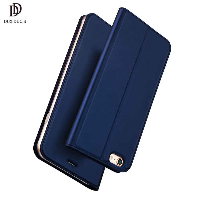 DUX DUCIS For iphone 6S Plus Case 6 Plus Phone Cover Luxury Leather Flip Stand Wallet Phone Bags Cover Case For iPhone 6 S Coque