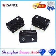 ISANCE 3 Электрический Мощность дверной переключатель окна 61311387916 для BMW E36 318 328 325 320 Z3 M3 1992 1993 1994 1995 1996 1997 1998