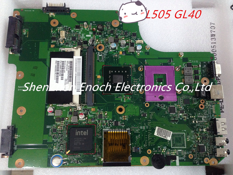 For Toshiba satellite L500 L505 GM45  integrated laptop Motherboard V000185030 6050A2250301-MB-A03 DDR2  stock No.999