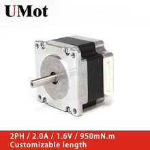 Nema 23 Hybrid Stepper Motor 57mm 2PH 2A 950m.Nm Nema23 Stepper Motor for 3D Printer CNC XYZ Motor