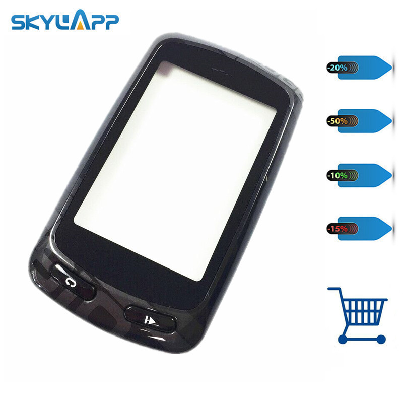 Skylarpu Original Capacitive Touchscreen for Garmin Edge 810 GPS Bike Computer Touch screen digitizer panel (with Black frame) велосипед stels tyrant 20 v020 2018