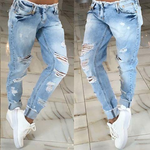 19143a13b72 2016 новый стиль мода высокое качество летние женские джинсы низкой талия  карандаш брюки плед регулярный выдалбливают женщины повседневная лето джинсы  ...