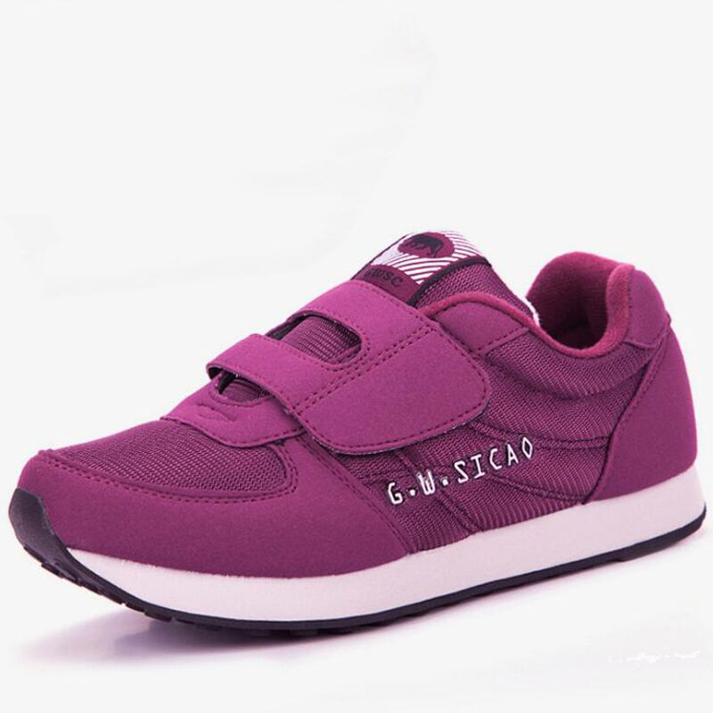 Women flats shoes 2018 new arrivals high quality breathable women casual shoes fashion hook & loop women sneakers