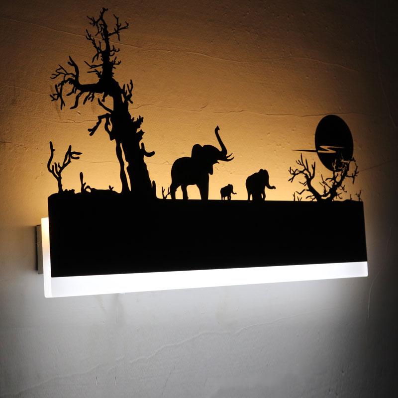 12 w Acrylique Creative Moderne Led Applique Murale Pour Salon à côté de Chambre Chambre Lampes LED Applique Salle De Bains Mur Lampe LED Lustres