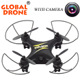 Gw009c global drone 4ch 2.4g helicóptero-on-the-remote-controle de bolso zangão quadcopter zangão rc mini rádio-controle-helicópteros