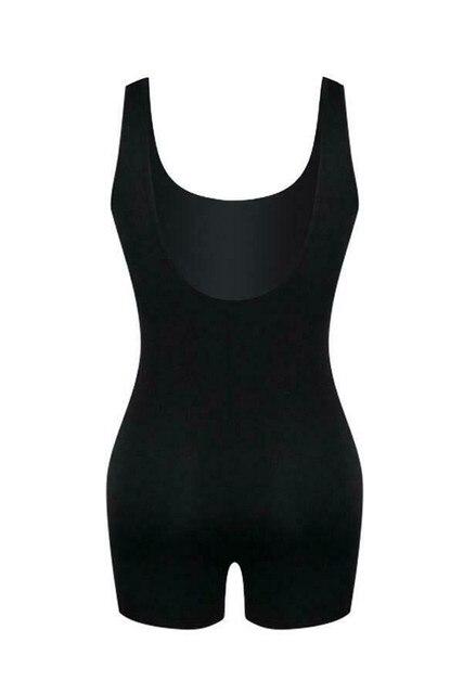 hirigin 2019 New Women Sleeveless U-Neck Solid Bodycon Playsuit One-piece Clubwear Sport Short Jumpsuit Romper Leotard Trousers 6