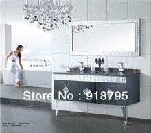 Ocean Shipping 304 stainless steel bathroom vanity bathroom cabinet