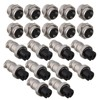 GX16 2 Aviation Connector Plug 2pin Rated Current 5A Pack Of 10