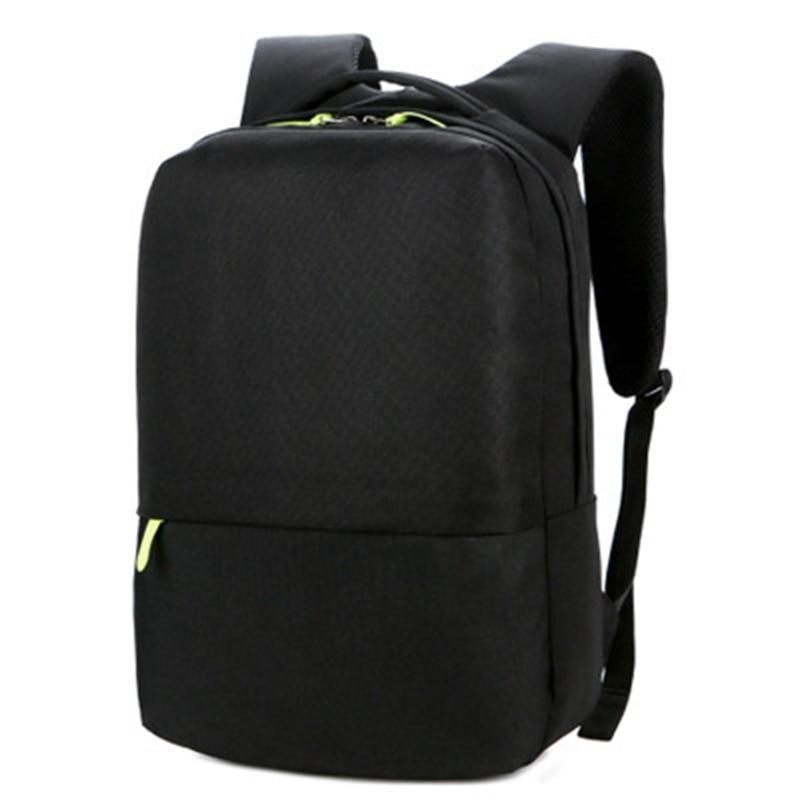 Waterproof Men's 15 Inch Laptop Backpack Computer Male School Backpacks Rucksacks Leisure For Teenage Mochila Escolar Gray Bag