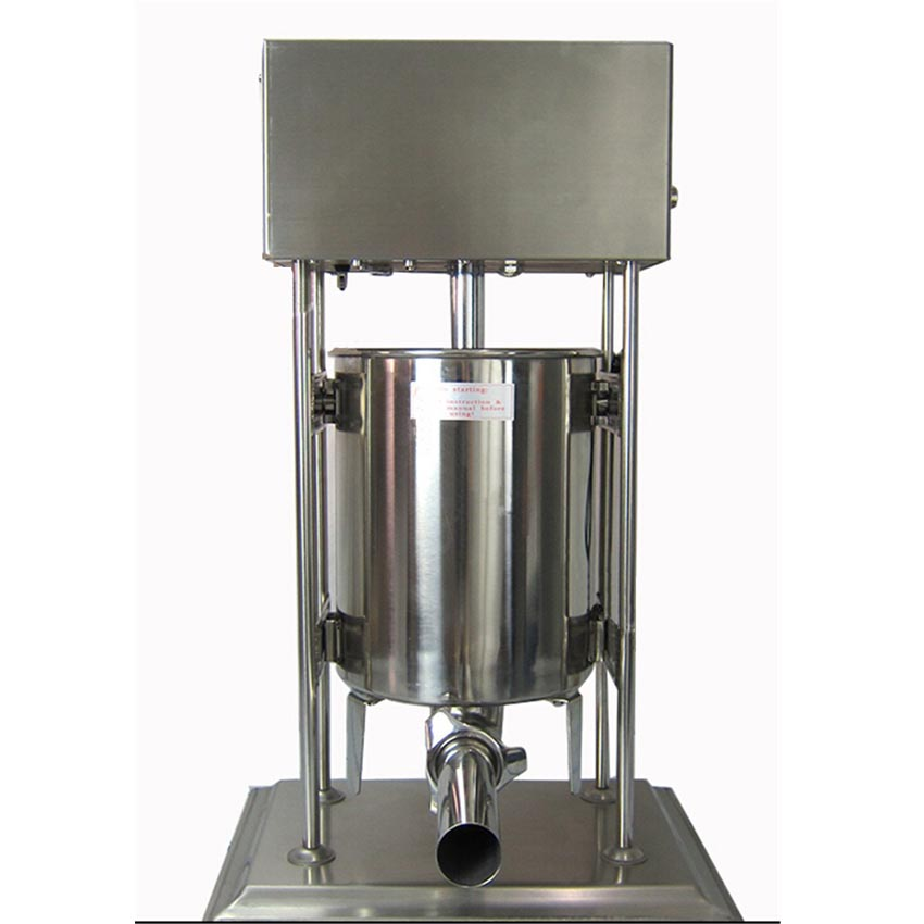 1pc  15L Stainless steel electric sausage stuffer | sausage filling machine ship from germany 5l stuffer maker machine commercial sausage filling machine sausage stainless steel with 4 filling pipes