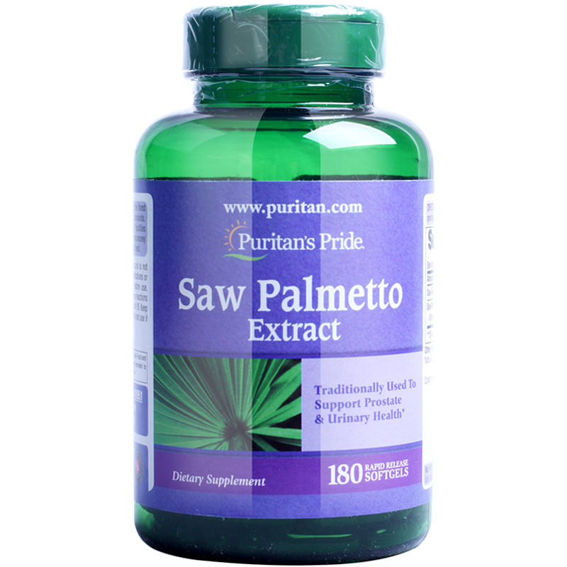 Free Shipping Saw Palmetto Extract Traditionally used to support prostate & urinary health 180 pcs saw palmetto extract 45