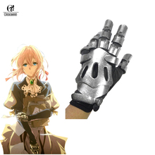 ROLECOS Violet Evergarden Cosplay mănuși mănuși Anime accesorii Prop umăr arici mecanic Arm Halloween Cosplay Robot