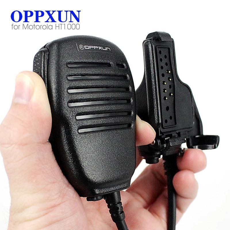 US $14 31 49% OFF|PTT Speaker Mic Microphone for Motorola HT1000 XTS1500  XTS2500 XTS3000 XTS3500 Walkie Talkie Two Way Radio IP54 Waterproof-in  Walkie