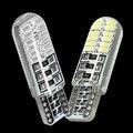 НОВЫЙ T10 194 2825 W5W 24 SMD 3014 LED силикагель Водонепроницаемый клин Свет Автомобиля габаритный фонарь купола рединг Лампы Авто парковка лампы 12 В