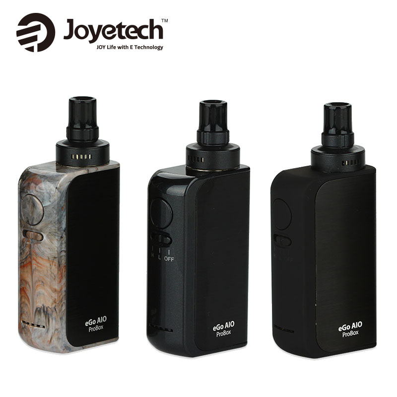 100% Original Joyetech eGo AIO ProBox Kit 2100 mAh 2 ml aio pro Box Alle In Einem Vape Kit Starter Kit Elektronische Zigarette Probox