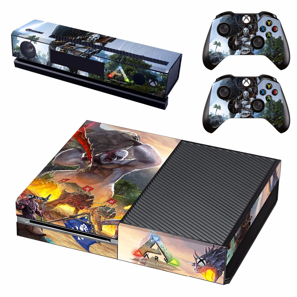 US $7 99 |ARK:Survival Evolved Vinyl Skin Decal Cover for Microsoft Xbox  One Console & Kinect & 2 controller skins-in Stickers from Consumer