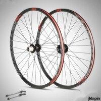 C9.0 MTB Dağ Bisikleti alüminyum çift jantlar 27.5/29 inç tekerlek mühürlü rulman 32 H sürme tekerlek