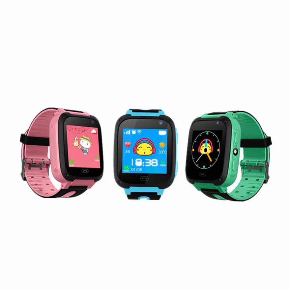 V6 Children Smart Watch With Camera Anti Lost Monitor SOS Call Waterproof Children Watch For IOS And Android Phone