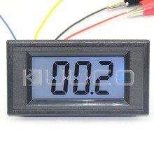 0-200 Ом метров AC/DC 8-12V Синяя подсветка ЖК-дисплей сопротивление монитор метр сопротивление Тестер Панель метр#100086