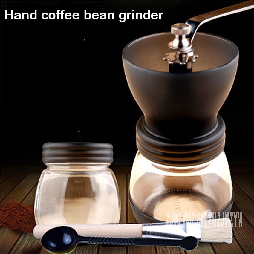Manual Coffee Grinder Hand Washable Handmade Coffee Bean Grinder Ceramic core Home Kitchen Mini Manual Hand Coffee Grinder big rocking wheel manual grinder machine hand coffee bean grinder home grinder