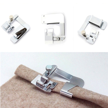 3pcs/set Rolled Hem Sewing Machine Foot 3 Size Presser Foot Set for Sewing Machines Brother Singer Sewing Machine Accessories rolled hem drawstring plaid pants