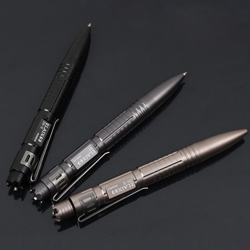 self defense EDC tactical pen Suvival Tool Multipurpose Aluminum Tactical Pen Emergency Window Glass Breaker Outdoor Camping