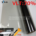 50x300 cm Gris Front Side Car Window Tint Film Glass window film VLT 70% Rollo de 1 CAPAS de Protección Solar Coche Auto Casa Comercial