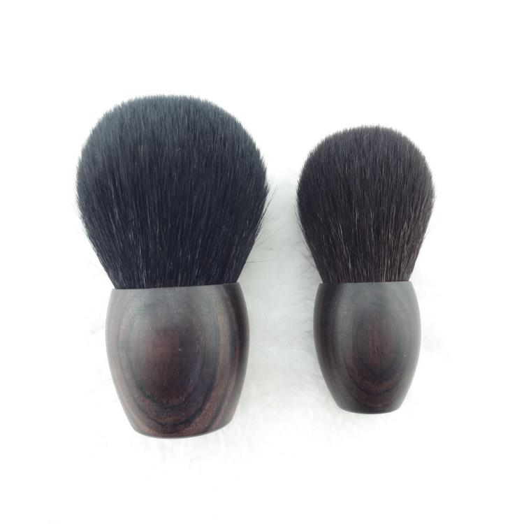 Professional Makeup Brushes Soft Goat Hair Make up Face Powder Blush Brush Kabuki Cosmetic Tools Pointed Highlighter Brush professional makeup brush flat top brush foundation powder beauty cosmetic make up brushes tool wooden kabuki